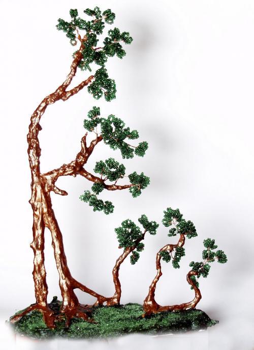 бисер денежное дерево мастер класс - Лучшие схемы и описания для всех.
