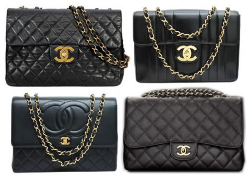 chanel sumki shopping bag