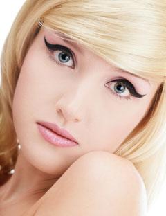 Как правильно снять макияж - Главная - Косметика - Макияж Красивый макияж для блондинок + фото и видео.