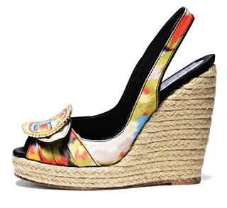 обувь на платформе, модная обувь 2010, роже вивье. Обувь на платформе прочно вошла в мир моды, и более того стала