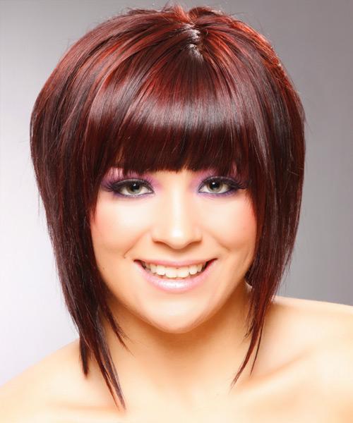 Фото стрижки женские для волос средней длины