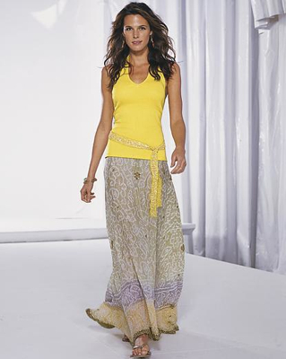 длинные летние юбки 2012 фото интеретмагазин