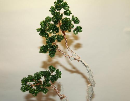 Мастер-класс деревьев из бисера Charla.ru.