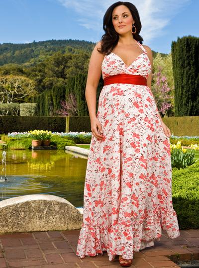 Женская одежда больших размеров для полных женщин.