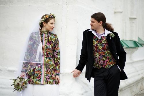 Наша необычная свадьба в русском стиле.