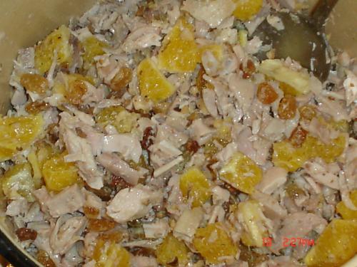 Мишка салат