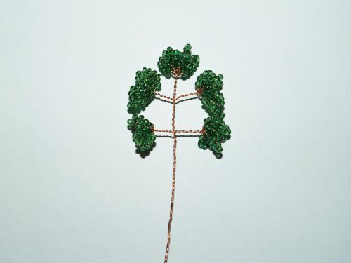 денежное дерево из бисера мастер класс.