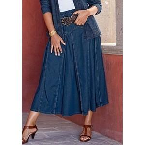 Юбки из легкого джинса