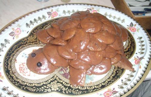 Торт черепаха рецепт с фото в домашних условиях со сгущенкой