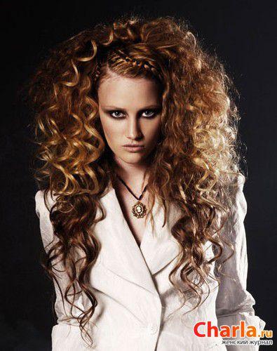 Прически с завивкой для длинных волос фото