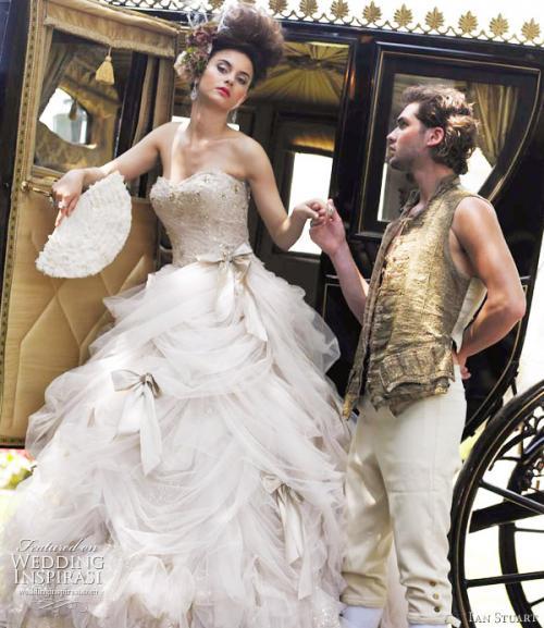 красивые свадебные платья от кутюр