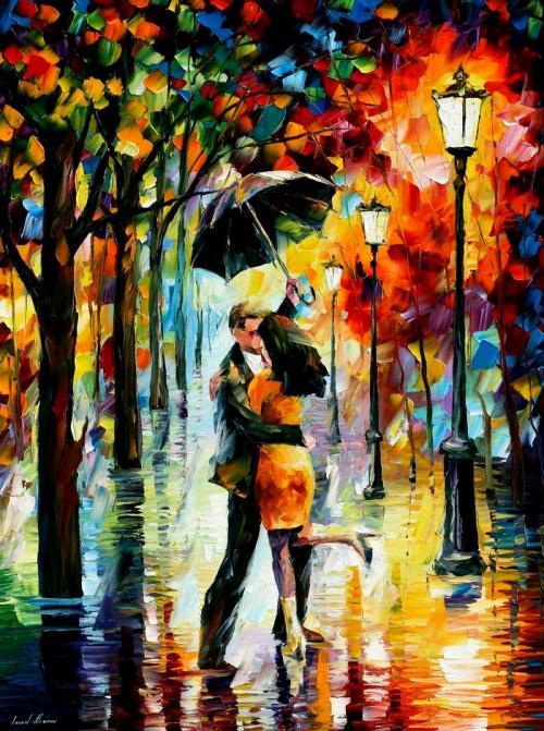 Рисунок в стиле осень