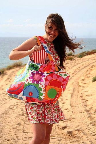 Пляжные сумки: наши бездонные компаньонки.  Я Модная!