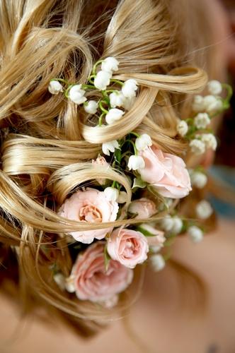 Живые цветы в причёску уссурийск заказ цветов